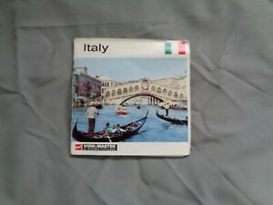 GAF VIEWMASTER PACKET REF C 080 ITALY EARLY WALLET TYPE OUTER