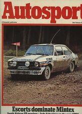 AUTOSPORT FEB 28th 1980 * Mintex RALLY & NUOVO Tiga F2 AUTO