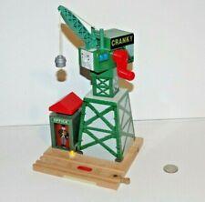 Thomas & Friends Wooden Train Tank Engine Talking Railway RFID Cranky Crane READ