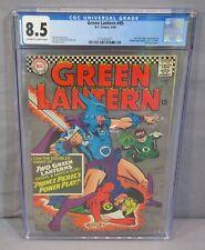 GREEN LANTERN #45 (Golden Age GL 2nd app in title) CGC 8.5 VF+ DC Comics 1966