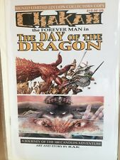CHAKAN the Forever Man - The Day of the Dragon - Graphic Novella - By RAK