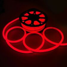 Delight® 50' Ft Red Led Neon Rope Light Home Outdoor Christmas Mall Hotel Decor