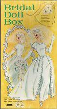 VINTAGE 1960s Bridal Box PAPER DOLLS LASER REPRODUCTION~LO PR~HI QUAL~TOP SELLER