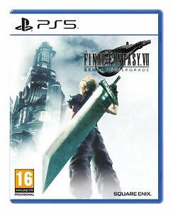 Final Fantasy VII Remake Intergrade Inc Free Coasters (PS5) Brand New & Sealed