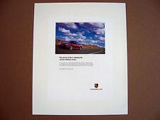PORSCHE OFFICIAL 996 911 CARRERA 4S DEALER SHOWROOM POSTER 2003 USA small