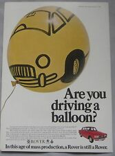 1969 Rover Original advert No.1
