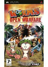 WORMS Open Warfare (7+) 2007 THQ  Sony PSP Game