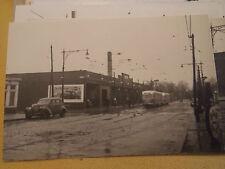 Original 1951 McDonald Ave 3 x 4 Brooklyn Trolley NYC New York City Photo