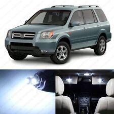 12 x White LED Lights Interior Package Deal For Honda PILOT 2006 - 2008