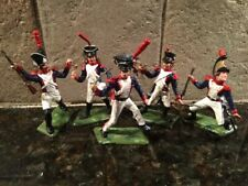 Toy Soldiers 5 Plastic 60mm Napoleonic French Troopers