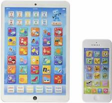 Toddler Educational Tablet Phone Combo English Spanish Electronic Learn Toy