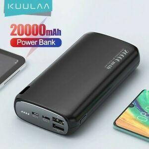 Bateria Externa Para Movil, powerbank de 20000 mAh, carga portatil