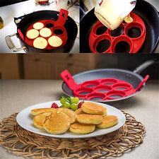 Non Stick Pancake Pan Flipper Perfect Breakfast Maker Egg Omelette Flipjack Tool