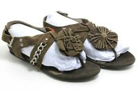 481 à Enfiler Cuir SPM Rivet Sandales Sandalettes Tongs Chaussures D'Été 37