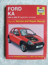 FORD KA 1996 a 2002 3570 Haynes Manutenzione E Riparazione Manuale