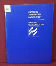 1981 National Semiconductor Pressure Transducer Data Booklet