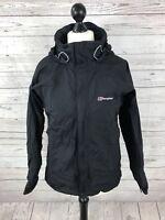 BERGHAUS AQUAFOIL Jacket - UK12 - Black - Great Condition - Women's
