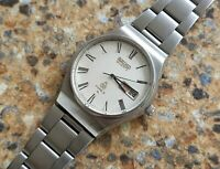 Vintage Seiko Quartz Type II (SQ) JDM 4316 8000 Kanji April 1977 Textured Dial