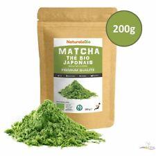 Thé Matcha Bio Naturel Japonais Cuisine Qualité Culinaire 200 gr Thé Vert Poudre