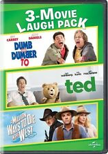 Dumb & Dumber To / Ted / A Million Ways To Die In The West (DVD,2017)