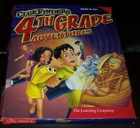 ClueFinders 4th Grade Adventures: Puzzle of the Pyramid - 2000-Original Package