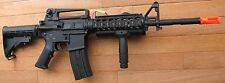 Full Metal Body &Gearbox M4 RIS Airsoft Electric Gun Shoot Hard up to 400 FPS