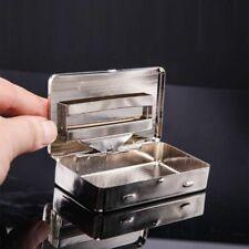 Metal Cigarette Case Thin American Eagle Boxes Automatic Cigarette Tobacco Case
