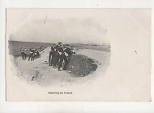 Repelling An Attack Vintage Military Postcard 308b