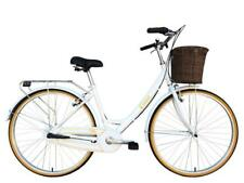 "Tiger Classic Ladies 15"" Heritage Hybrid Bike White Alloy Frame 700c 3 Speed"