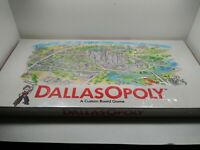 NEW Vintage 1989 Dallas-Opoly DallasOpoly Monopoly Style Real Estate Board Game