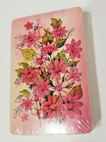 VINTAGE FLOWERS SEALED DECK OF PLAYING CARDS Merrigold Press