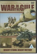 War in the Gulf Desert Storm Desert Victory DVD UK Release Brand New Sealed R2