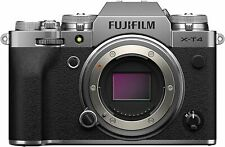 New Fujifilm X-T4 Camera Body - Silver Version *OFFICIAL FUJI UK DEALER* XT4