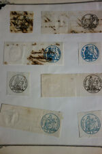 South America 1800's Revenues Stamp Selection