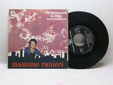 MASSIMO RANIERI SE BRUCIASSE LA CITTA' - RITA CGD N 9756 OTTIMO
