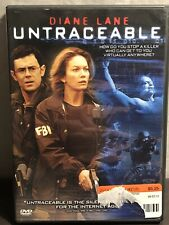 Untraceable Dvd Diane Lane Billy Burke Used