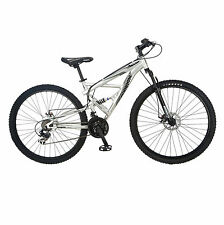 Mongoose -Impasse FS-Full/Susp-Mens-Silver R2780 Cycles NEW