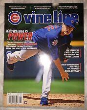 KYLE HENDRICKS Chicago Cubs June 2015 VINELINE Magazine 2016 WORLD SERIES