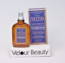 NEW L'Occitane Eau De L'Occitan Pour Homme EDT Spray 3.4oz Mens Men's Perfume