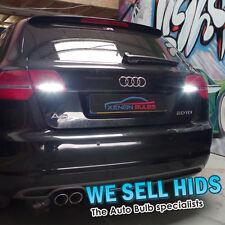 Audi A3 X2 inversa Luces Led actualización Xenon Blanco T15 w16w 921 15 Smd Canbus