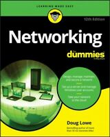 Networking for Dummies, Paperback by Lowe, Doug, Brand New, Free P&P in the UK