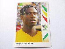 Sticker PANINI Fifa World Cup GERMANY 2006 N°521 Togo Yao Aziawonou