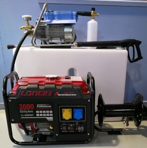 Full Mobile Pressure Washer Valeting System Kranzle 7/122 Loncin Snow Foam Reel