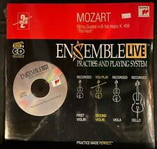 Violin 2: Ensemble Live String Quartet Mozart K. 458 Cd with Sheet Music
