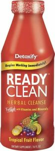 READY CLEAN Detox Detoxify Herbal Cleansing DRINK Clean Your SYSTEM! Xxtra CLEAN