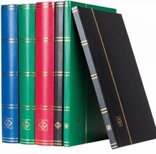 Lighthouse Hardcover Stockbook, Choose color - LS4/8 (16 Black Pages) -Free ship
