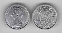 REUNION – 1 FRANC UNC COIN 1964 YEAR KM#6.1