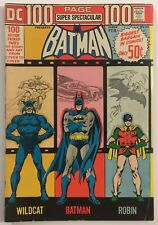 100 Page Super Spectacular DC-14 Batman Wraparound Cover DC Comics 1973 VG/FN