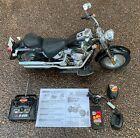 New Bright Black Harley Davidson Fatboy RC Motorcycle