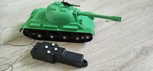 Vintage Soviet Plastic Toy Tank Remote Control USSR Russian Military Tank.